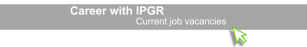 Jobs - Career with IPGR
